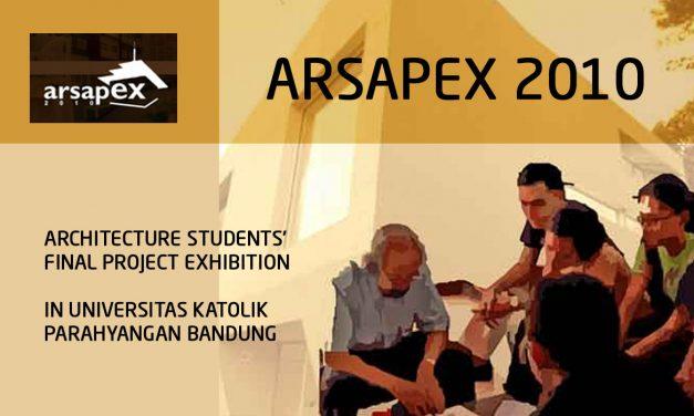 Undangan ARSAPEX – International Architecture Seminar & Architecture Project Exhibition