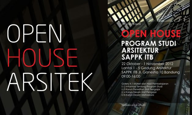 Open House Program Studi Arsitektur SAPPK ITB