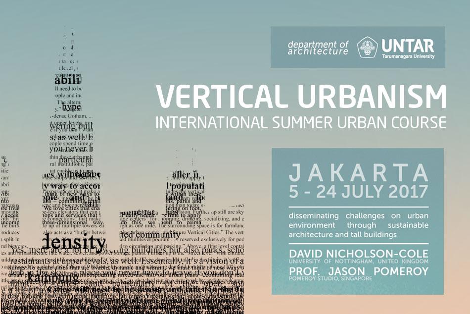 Vertical Urbanism – International Summer Urban Course