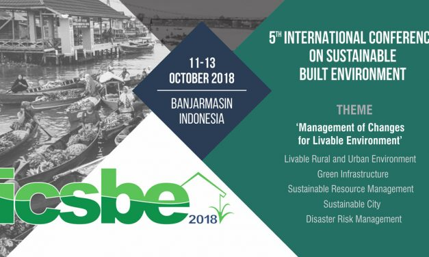 The 5th Conference 2018 on Sustainable Built Environment