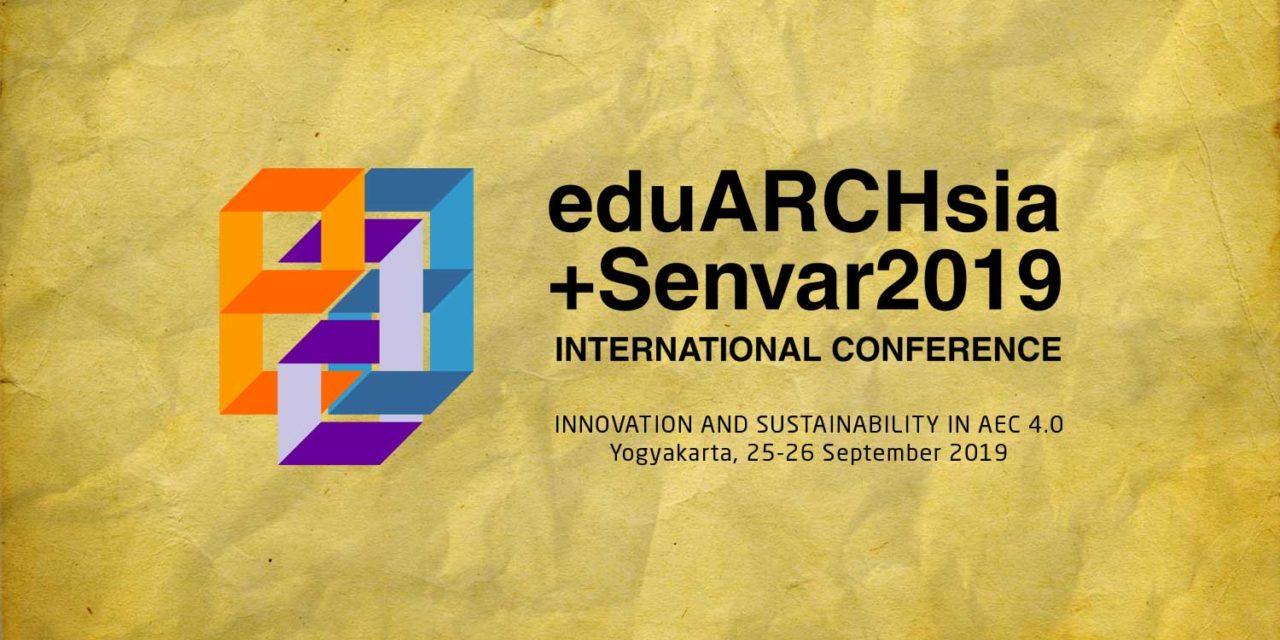 eduARCHsia +Senvar 2019 International Conference