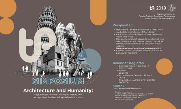 SIMPOSIUM KTA2019 – Architecture and Community:
