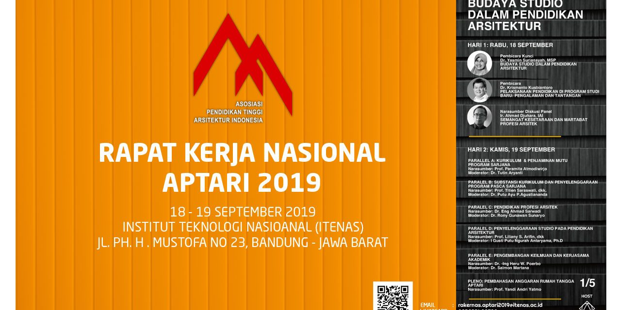 Rapat Kerja Nasional APTARI 2019