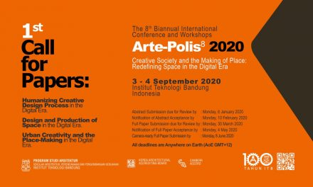 1st Call For Paper; Arte-Polis 8 2020
