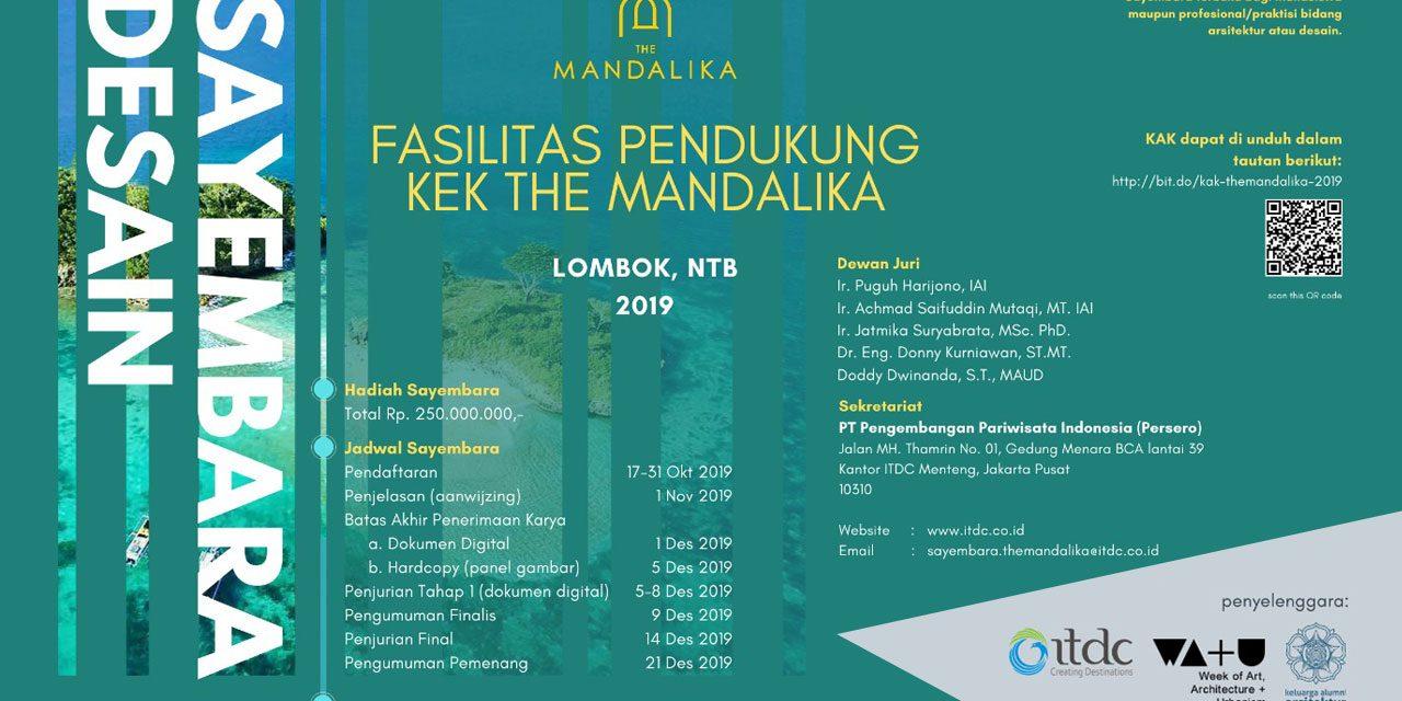 Sayembara Desain Fasilitas Pendukung KEK The Mandalika Lombok