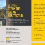 Seminar Nasional Struktur Dalam Arsitektur 2020