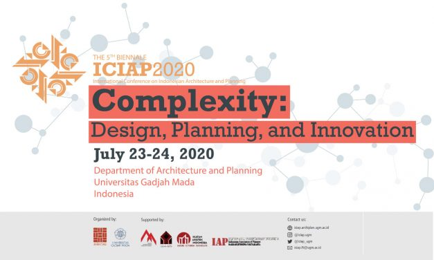 ICIAP 2020 – The 5th Biennale of International Conference on Indonesian Architecture and Planning