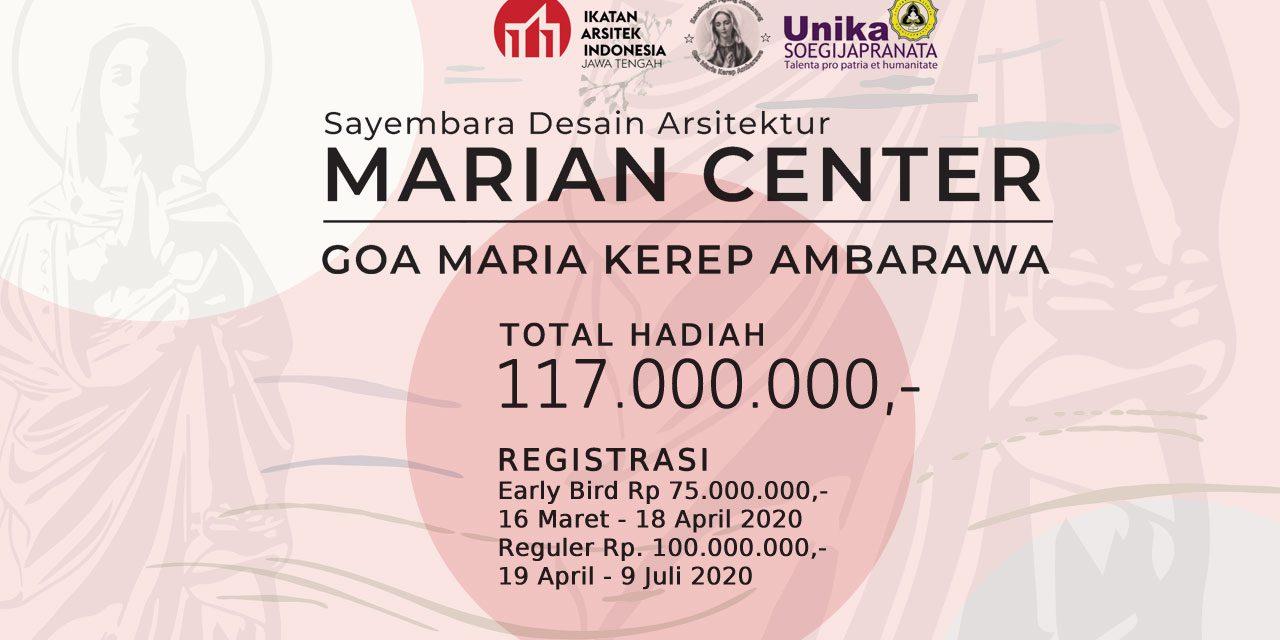 Sayembara Desain Arsitektur Marian Center