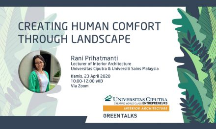 CREATING HUMAN COMFORT THROUGH LANDSCAPE