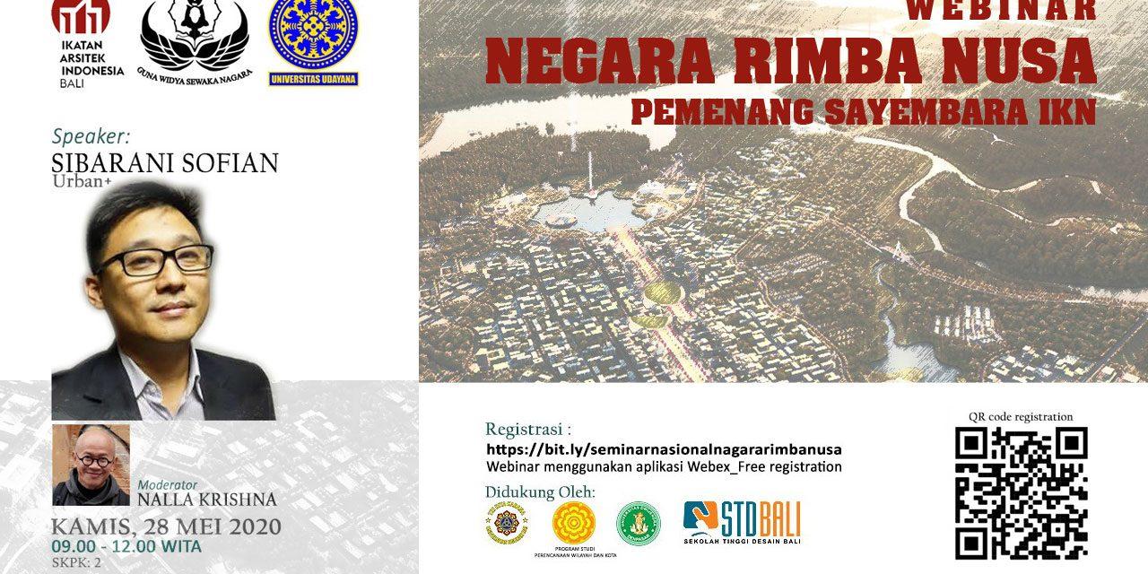 Webinar Negara Rimba Nusa