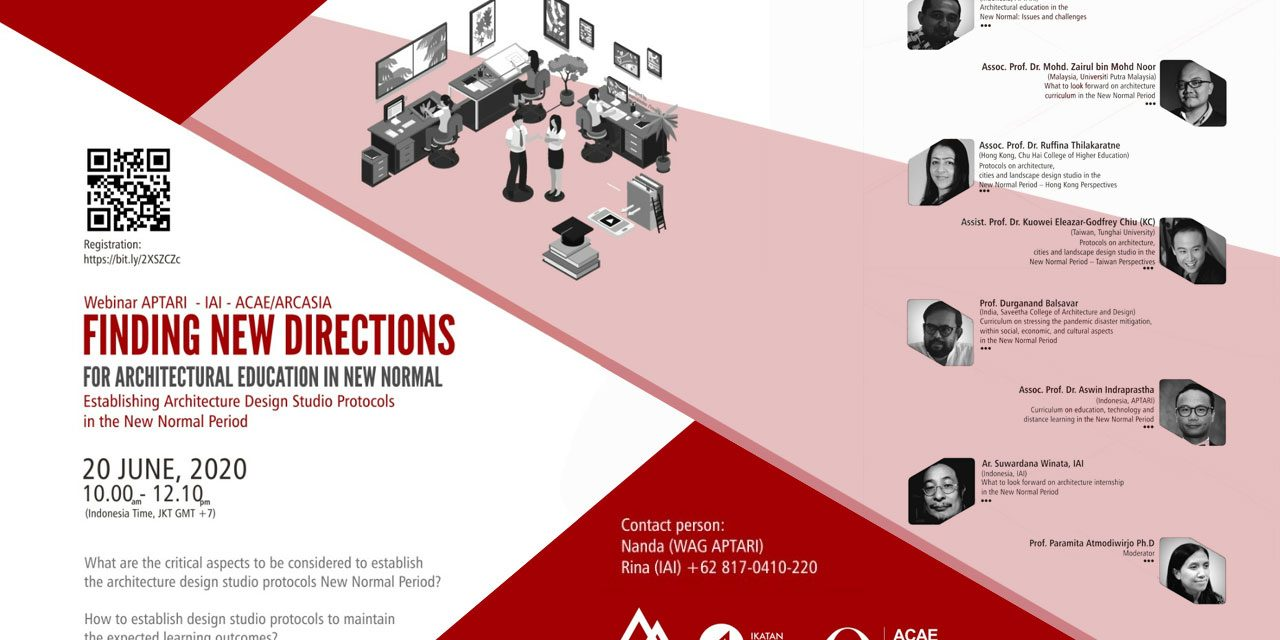Finding New Directions for Architectural Education in New Normal