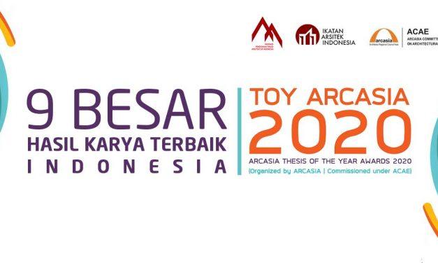 9 Besar Hasil Karya Terbaik Indonesia TOY ARCASIA 2020