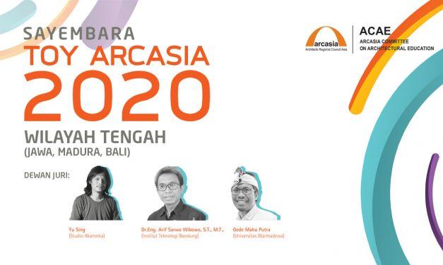 SAYEMBARA TOY ARCASIA INDONESIA 2020 – WIL. TENGAH