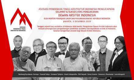Pengukuhan Dewan Arsitek Indonesia