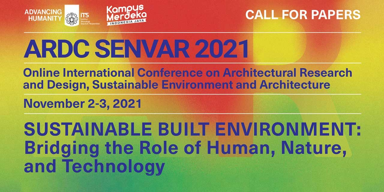ARDC SENVAR 2021 – CALL FOR PAPERS